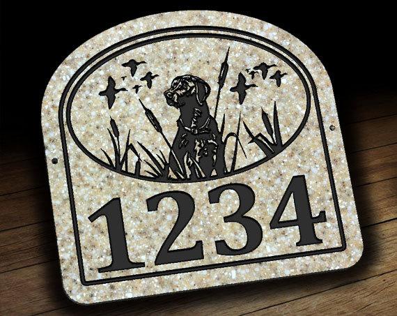 Labrador Retriever Address Plaque