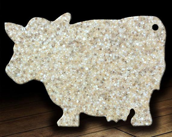 Corian Cutting Board 10 X 14 Cow Kitchen Decor Housewares Cheese Board Housewarming Gift Wedding Gift Anniversary Gift Culinary on Pet Animal Cutting Shapes