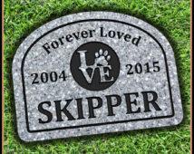 Pet Memorial Gravestone