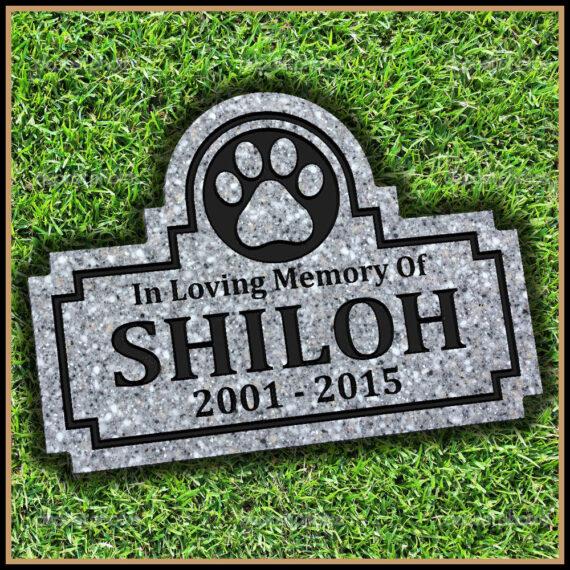 Pet Grave Memorial Marker