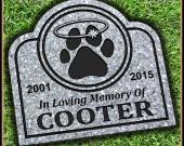 Pet Grave Marker
